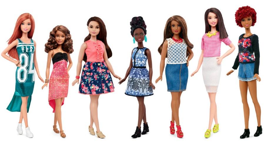 Muñecas de Barbie Fashionista